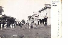 Freetown, Sierra Leone Westmoreland Street @ 1910