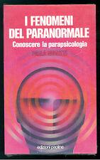 GIOVETTI PAOLA I FENOMENI DEL PARANORMALE PAOLINE ANNI '90 ESOTERISMO