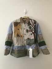 Equestrian Western Quilted Country Jacket Rare Size Large Don't Mess With Texas