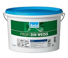 Herbol Profi DIN Innenwandfarbe - Weiß