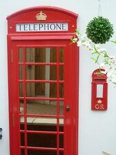 RED TELEPHONE BOX BOOTH KIOSK K6  DOOR FRONT MIRROR