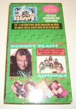 Doro Raging Slab Joe Perry Lita Ford Anthrax Hard n Heavy Volume 9 Vhs Tape