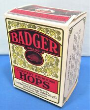 Choicest Bohemian Beer Hops ~ Prohibition Era Beer Brewing Hops ~ Badger Brand