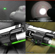 2in1 Combo Tactical Q5 LED Flashlight/LIGHT 200LM For Pistol/Gun Handgun