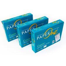 Marken Kopierpapier A4 Druckerpapier Paper One Weiss Copier 75 Papier no HP Mido