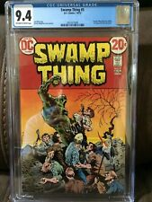 Swamp Thing #5  CGC 9.4   Off white to White pages