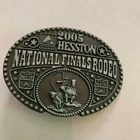 Hesston Belt Buckle Commemorative Series 1997 National Finals Rodeo #129