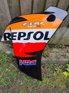 Honda CBR125 R Fairing Panel RIGHT Front REPSOL ORANGE 2011 - 2020