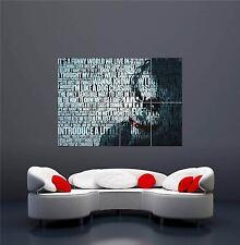 Il JOKER BATMAN CAVALIERE OSCURO Heath Ledger GIGANTE NEW art print poster oz653