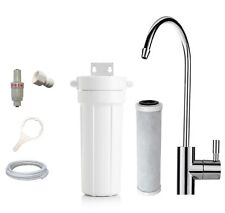 PRO Compact Undersink Water Filter System + Premium 0.5 Micron Carbon