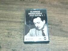 DJANGO REINHARDT Jazz Guitar  Cassette Tape Gypsy Jazz Heavy Artillery