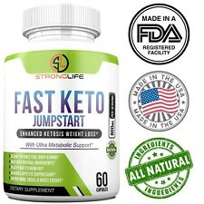 Stronglife Fast Keto BHB Natural Weight Loss Diet Pills Fat Burner Supplement