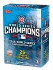 Chicago Cubs 2016 Topps WORLD SERIES Limited Edition 25 Card Team Set  IN STOCK!
