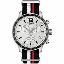 Tissot Swiss Made T-Sport Quickster Chronograph Men's Nato Strap Watch