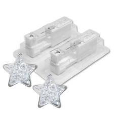 STUDEX Medizinische Ohrstecker Stern Glitter weiß Ø4mm 1 Paar 7524-3544 System75