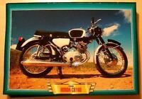 HONDA CB160 CB 160 TWIN CLASSIC MOTORCYCLE BIKE 1960'S PICTURE PRINT 1966