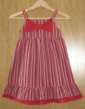 New Girls  Ex Loved Girls Uk High Street Red Bow Dress Age 3-4 Years
