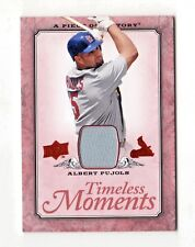 ALBERT PUJOLS MLB 2008 UD A PIECE OF HISTORY TIMELESS MOMENTS JERSEY (CARDINALS)