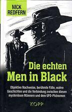 DIE ECHTEN MEN IN BLACK - Nick Redfern BUCH - KOPP VERLAG - NEU