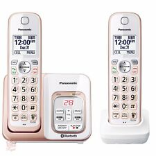 Wireless Home Phone Digital Answering System Panasonic Cordless Voice Assist NEW