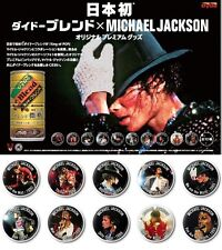 Michael Jackson Pins Collection Complete Set of 10 /Dydo Japan