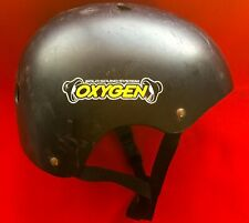 BLACK Skate Helmet Oxygen Solo Sound System Built in Speakers SEE music PORT