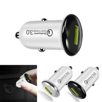 Car Charger Qualcomm QC 3.0 Quick Charge USB Cigarette Lighter Voltage Adapter