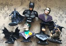 DC DIRECT THE ULTIMATE BATMAN & JOKER LARGE BUST COLLECTION (7) DIFFERENT NO BOX