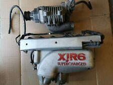Jaguar xjr6 super charger & inlet manifold