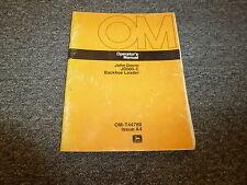 John Deere 500C Backhoe Loader Operator User Guide Manual OMT4478