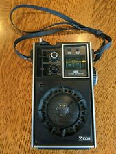 Vintage SHARP Z-1000 FX-208U Upright Transistor Radio -- Works! MINT Condition!!