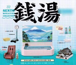 Kenelephant Public bath Sento miniature collection 5 types set Capsule Toy Japan