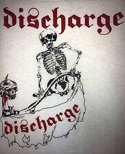 Discharge Punk vintage retro tshirt transfer print new, NOS