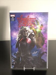 VENOM #27 NM SKAN TRADE DRESS VARIANT CODEX KNULL INFINITY GAUNTLET