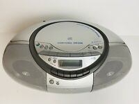 Sony CFD-S350 Cassette CD Player AM FM Radio CD-R/RW Playback Portable Boombox
