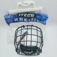 ITECH Hockey Full Face Helmet Cage Protector- RBEIII HECC Medium Black BRAND NEW