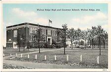 Walnut Ridge High and Grammar Schools in Walnut Ridge AR Postcard