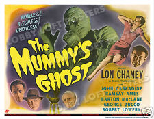 THE MUMMY'S GHOST LOBBY TITLE CARD POSTER 1944 LON CHANEY JR. JOHN CARRADINE