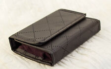Premium Handmade 3DS XL Hard Case Quilted textured Vegan Leather and Faux Suede