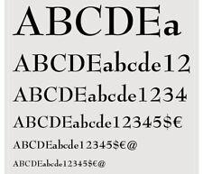 NOS Complete Font  ATF 18pt BERNHARD ROMAN BOLD No.670 Letterpress Metal Type a