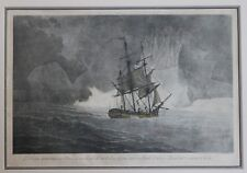 FERNANDO BRAMBILA ETCHING AND AQUATINT, 1798, FROM THE MALASPINA EXPEDITION