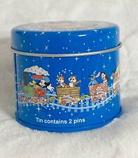 New listing Disneyland Wdw, Railroad Mickey Mouse and Friends Round Tin Container with Lid