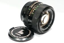 Canon FD 50mm 1:1.4 fast prime lens 1980 Olympic ver fits FD Camera mount 1.4/50