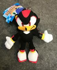 Sonic The Hedgehog Soft Plush -Shadow-Doll Key Chain Coin Bag Clip On Licensed