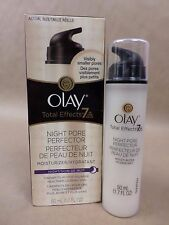Olay Total Effects Night Pore Perfector 1.7 fl oz New Unsealed Exp 08/17 +