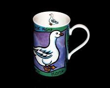 Dunoon Whittard of Chelsea Whimsical Goose HONK HONK Glossy Shiny Mug Scotland