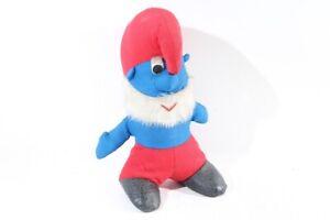 Old Stuffed Animal Papa Smurf 40cm Height Collector