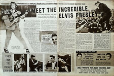 More details for elvis presley meet the incredible elvis presley vintage music article 1956