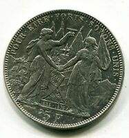 SUIZA   5 FRANCOS FRANCS PLATA SILVER   LAUSANNE 1876 PESO 24,90 GRS.EBC XF