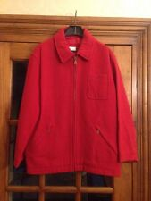 Next Red Wool Coat Size Small